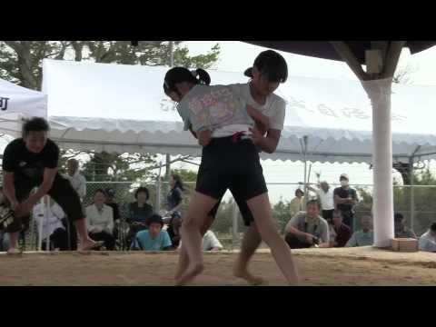 種子島の学校活動:第84回仲良し相撲大会(住吉小学校・星原小学校)後半ダイジェスト