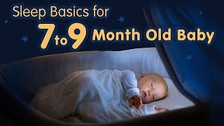 7 to 9 Month- Old Baby Sleep Basics