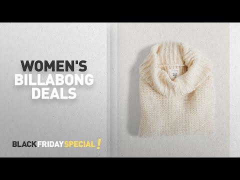 Cyber Monday Women's Billabong Deals: Billabong Women's Stay Here Turtleneck
