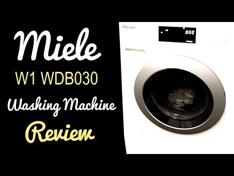 Miele W1 WDB030 Washing Machine Review