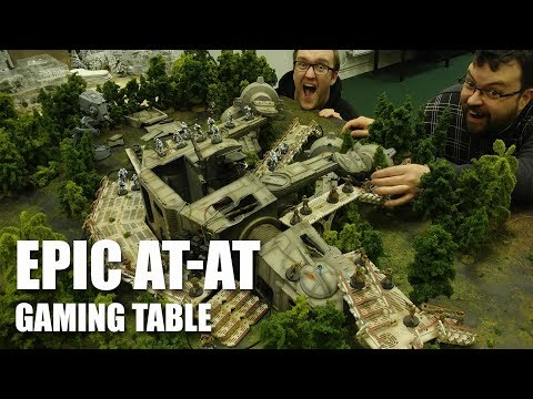 Awesome Star Wars Legion At-At Gaming Table