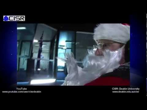 Of Course Santa Has To Train Like A Top Gun Pilot