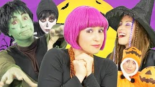 Halloween Song for Kids | Finger Family | Spooky Halloween Song | By Debbie Doo