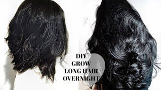 HOW TO GROW LONGER THICKER HAIR Naturally + Fast | Stop Hair Loss | DIY HAIR GROWTH SECRET