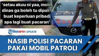 Oknum Polisi yang Diduga Pakai Mobil Patroli untuk Pacaran Terancam Dihukum dan Dicopot Jabatannya