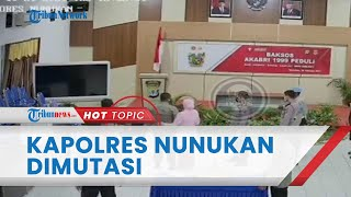 Buntut Video Viral Penganiayaan Anak Buah, Kapolres Nunukan AKBP SA Digantikan AKBP Ricky Hadiyanto