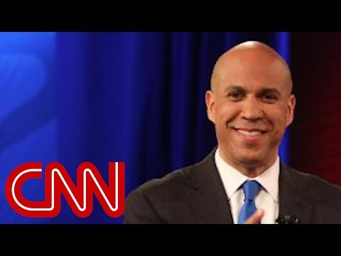 The moment that made Cory Booker nervous with girlfriend