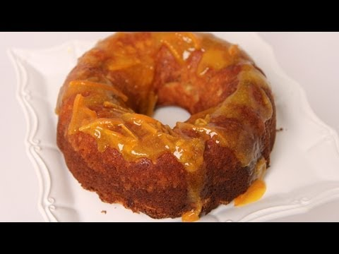 Orange Marmalade Coffee Cake Recipe – Laura Vitale – Laura in the Kitchen Episode 460