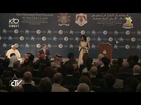 Rencontre du Pape avec les autorités du Royaume de Jordanie