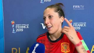 Jennifer Hermoso – Player Of The Match – Spain V South Africa