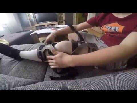 Vorrichtung für die Entwicklung von Knie und Hüfte