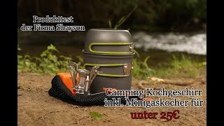 Produkttest Product Review: camping cookware set from Shayson German