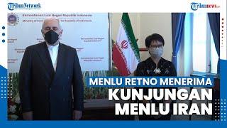 Menlu Retno Terima Kunjungan Menlu Iran di Jakarta, Ini yang Dibahas