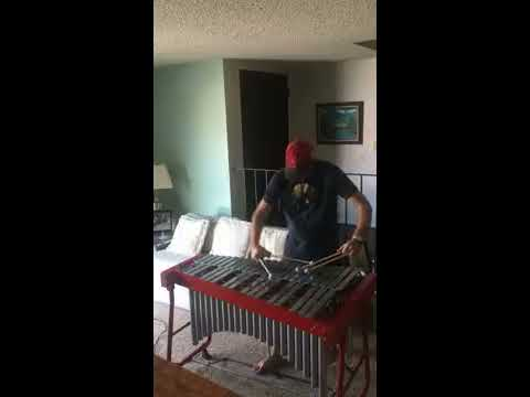 "Solo vibes of ""Georgia on My Mind"". I love playing vibraphone and mallet percussion."