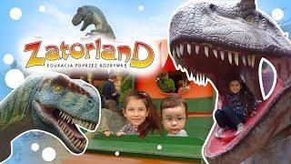 ZATORLAND - Ruchome dinozaury #58 Amusment Dino Park in Poland
