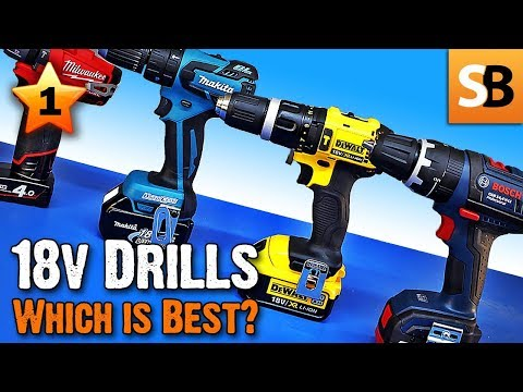 18 Volt Combi Drills Review – Which is best in test?