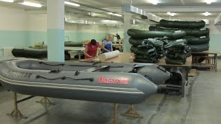 Ремонту надувных лодок в спб