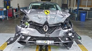 2016 Renault Scenic CRASH TESTS