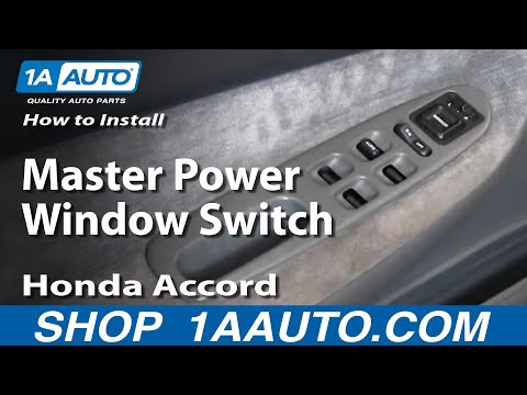 Download link youtube how to install replace master power for 1994 honda accord power window switch
