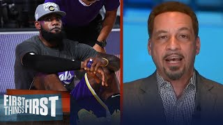 Chris Broussard talks Lakers on to NBA Finals after series win, LeBron mindset   FIRST THINGS FIRST