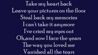 Take My Heart Back- Jennifer Love Hewitt w/ lyrics