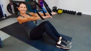 TRX Core - Abdominal Exercises for Everyone by shortcircuits with Marsha
