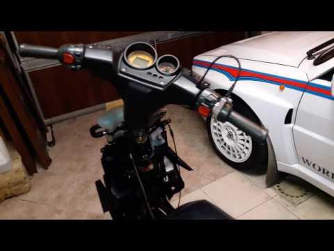 T&L ep.8 Elaborazione. Montaggio blocco motore su telaio parte 2. Minarelli scooter