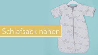 Baby-Schlafsack nähen: #TraumTraudel
