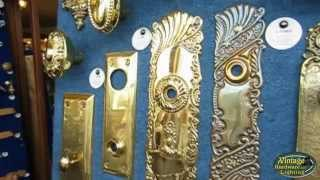 Antique Door Plates And Antique Door Hardware