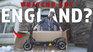 I BOUGHT the FASTEST ELECTRIC SCOOTER on the Internet