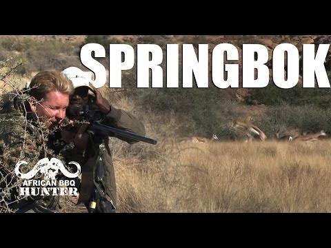 African BBQ Hunter – Springbok in Namibia