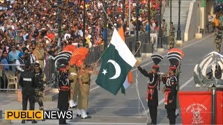 Parade At Wagah Border On Pakistan Day | 23 March 2019