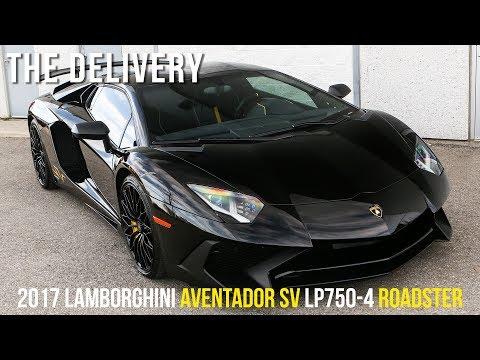 Theo chân mui trần Lamborghini Aventador SV đến nhà khách hàng