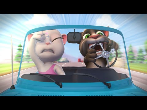 Talking Tom Curtas - Pé na Estrada (Episódio 20)