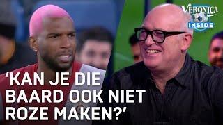 René snapt niets van kapsel Babel: 'Kan je die baard ook niet roze maken?' | CHAMPIONS LEAGUE