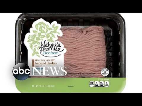 Health alert issued for salmonella outbreak in raw, ground turkey