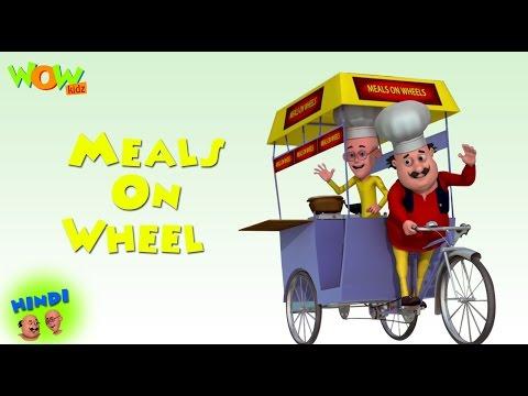 Motu Patlu Cartoons In Hindi |  Animated movie | meals on wheels | Wow Kidz