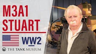 Tank Chats #72 M3A1 Stuart | The Tank Museum