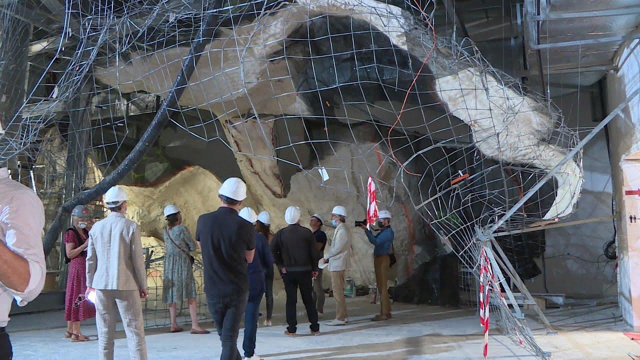 Reproduction de la grotte Cosquer, le point sur le chantier