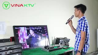 Hát Karaoke Tại Nhà Với Micro Không Dây USS 700 Plus Vina KTV Siêu Chất