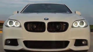2013 BMW F10 550I INTAKE AND CUSTOM EXHAUST