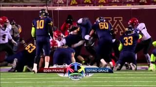 Prep Football: Eden Prairie vs Totino-Grace, Prep Bowl (11/21/2014)