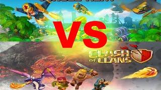 Jungle Heat VS Clash of Сlans противостояние игр!