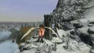 Skyrim Mod: Real Flying (with Gliding and Collisions)