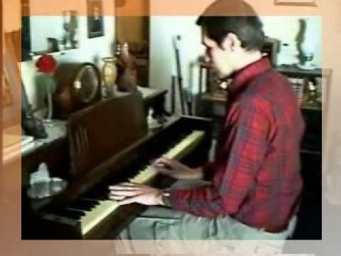 KC Plays Music on the Piano for YouTube