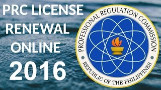 PRC RENEWAL ONLINE APPLICATION SYSTEM