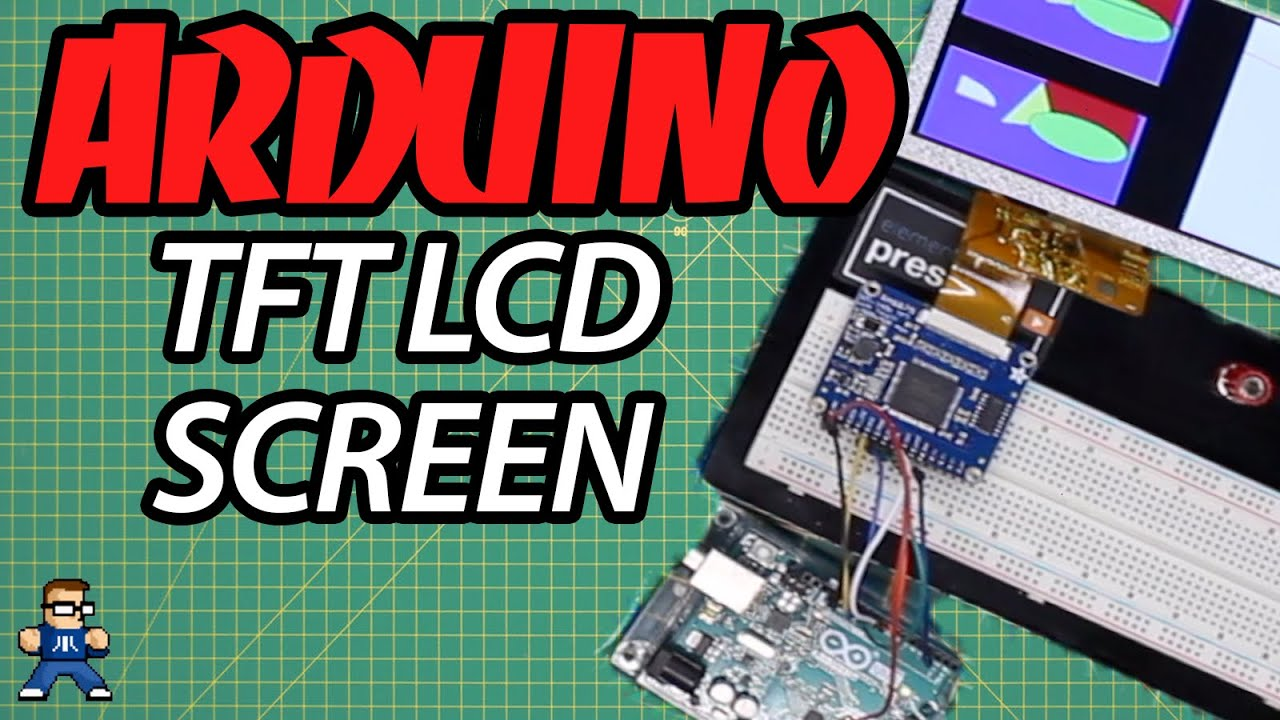 How To Set Up A TFT Screen On Arduino With The RA8875