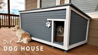 DIY Insulated Dog House Build