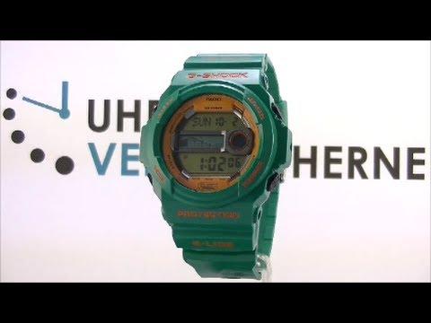 Casio Uhr Herren Uhr G-Shock GLX-150B-3ER grün Digitaluhr Armbanduhr