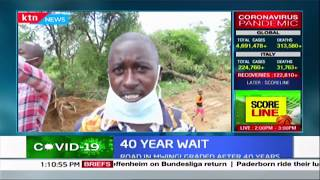 Mwingi villagers a happy lot as they witness road grading for the first time in 40 years